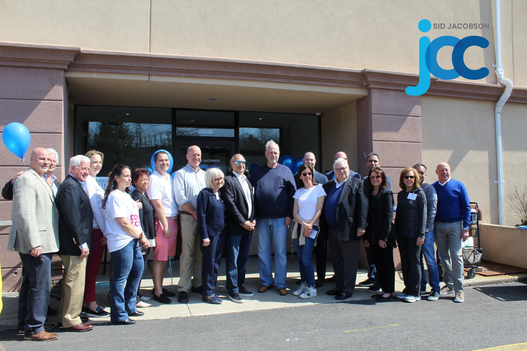 Ribbon Cutting at Sid Jacobson - April 11, 2019Last weekend, David Briggs attended the grand opening of the new @sidjacobsonjcc Annex, designed by Loci in East Hills, NY. The Annex's 11,000 sf includes office spaces, conference and training rooms, and the JCC's new community food bank. Loci is proud to work with the JCC and their outstanding community service work.