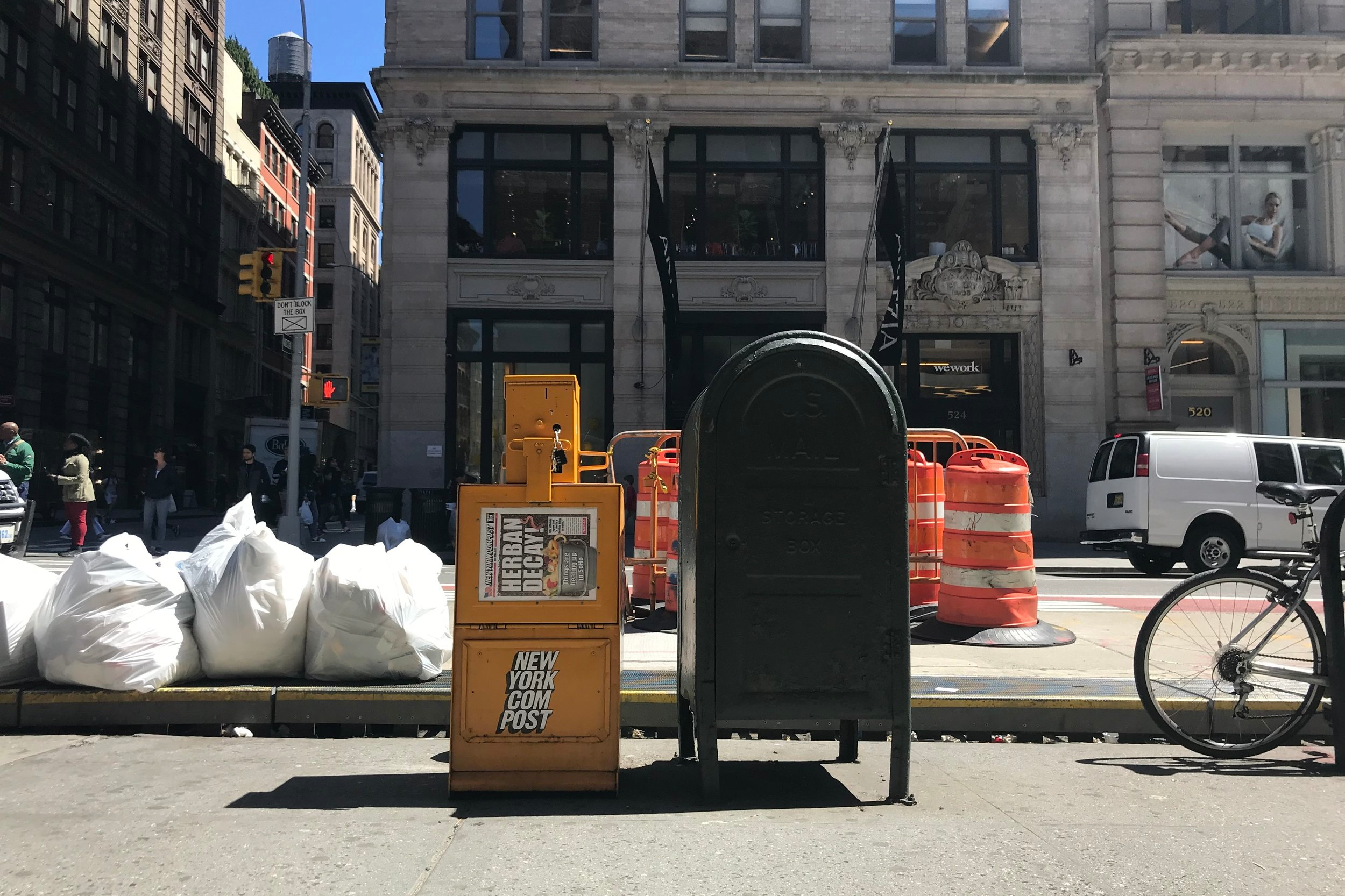 Composting In SoHo - June 28, 2019Last year, Loci participated in the AIA NY's Zero Waste Challenge and increased our existing efforts to reduce the amount of paper, plastics, and trash we generate each day. One of the biggest challenges we faced during the campaign was finding a place to compost that was easily accessible from our office. Luckily for us, a @nycompostbox landed on Broadway at Spring Street as part of a pilot composting program for the SoHo Broadway community. The program is a collaboration between @commoncompost and @reclaimedorganics. Since its inception, the New York Compost Box has been an excellent way for small businesses in the #SoHo neighborhood to #compost regularly and has helped us reach a 95% diversion rate for our office's waste.