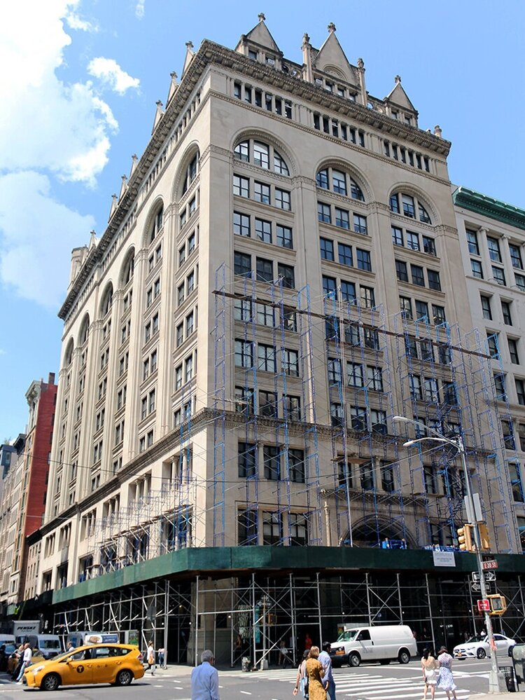 """Loci at 156 Fifth Ave - July 25, 2019Loci is adding value at 156 Fifth Avenue in the Ladies Mile Historic District, discretely adding """"Rear Window-style"""