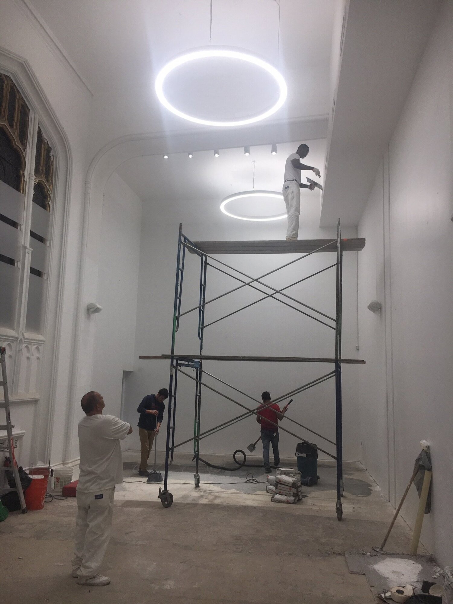 New Children's Academy in NYC - September 11, 2019Putting the finishing touches on our Children's Academy project.