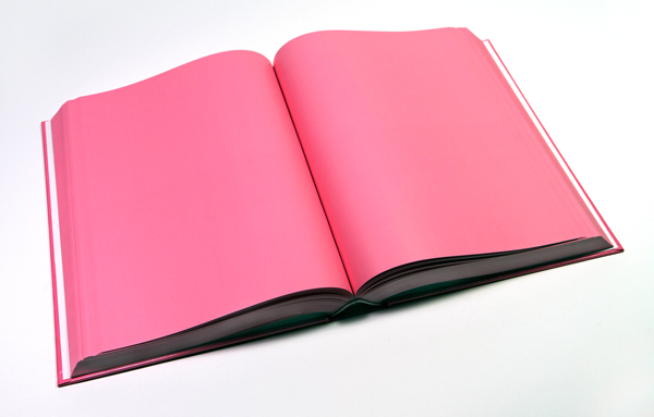 Cookbook,  2013 Baker-Miller Pink printed book (800 pages), edition of 3 11.75 x 8.25 x 2 inches