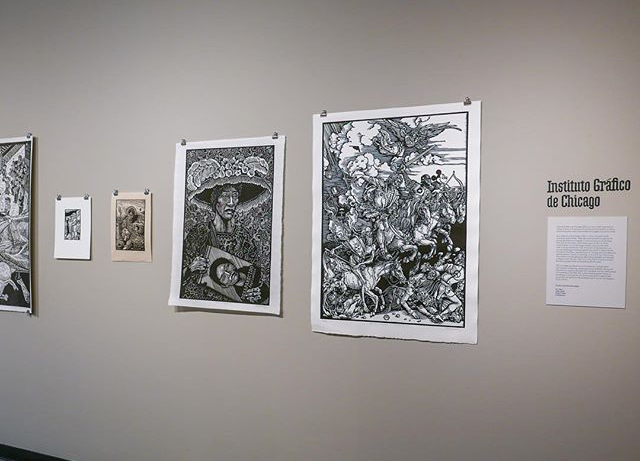 Artwork by the Infamous IGC member Carlos Barberena and Ricardo Serment at the Walford Galleries, Wheaton College.