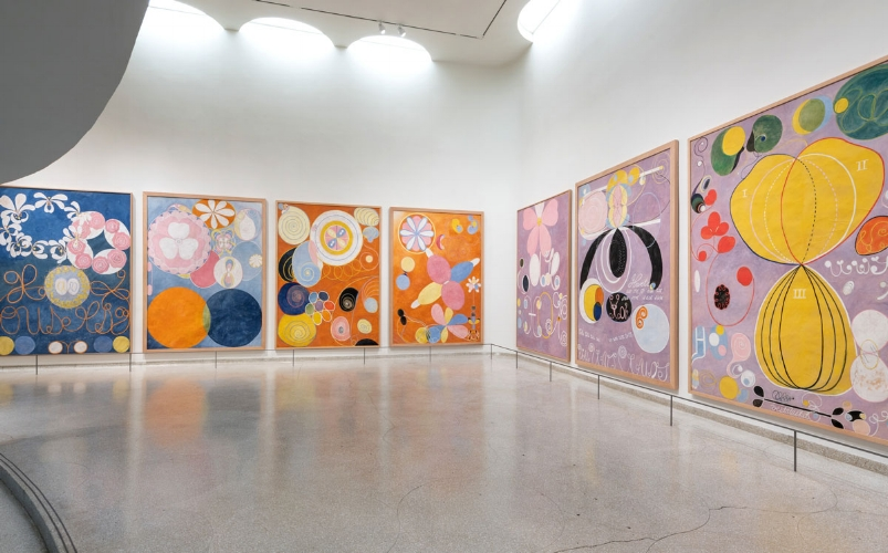 Hilma af Klint: Paintings for the Future,  (2018). On view until April 23, 2019. Courtesy of milled.com