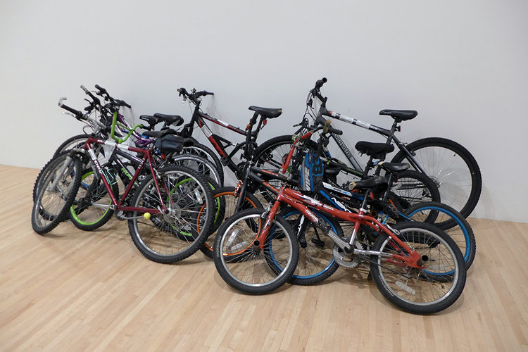 Group of 8 Used Bikes —Item: 1284-018213,  (2018).