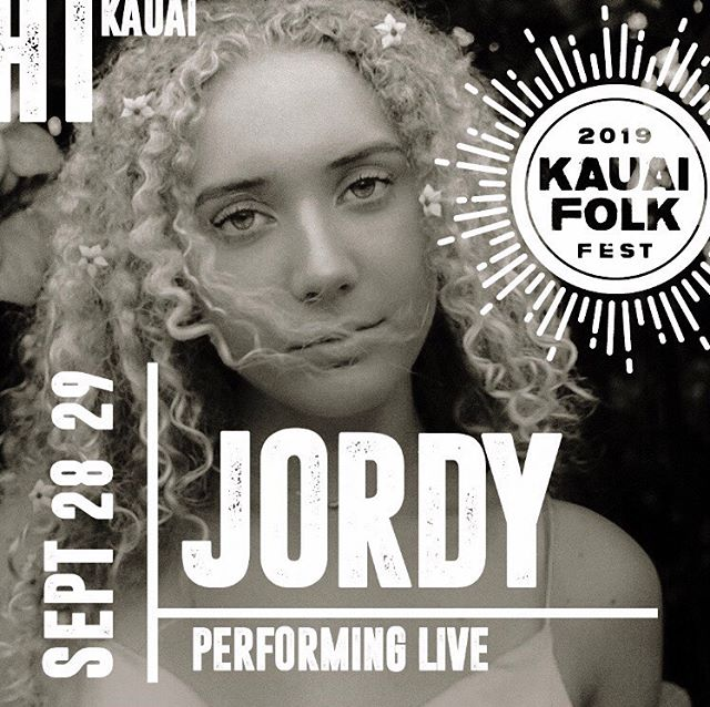 Couldn't be more excited to play @kauaifolk alongside so many music legends!!! SEP. 28-29 @ Grove Farm: it's a festy u can't miss 😍 See you there ;)
