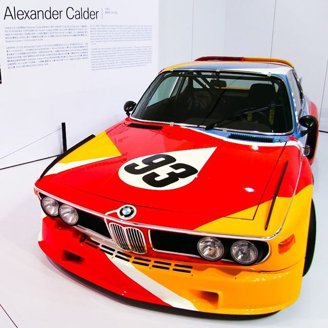 Alexander Calder's 1975 BMW 3.0CSL Art Car. Stella, Lichtenstein, and Warhol, were amongst the exceptional names commissioned by BMW in the 70s in this extraordinary collaboration programme. The 80s and 90s saw the likes of Rauschenberg and Warhol and the 21st Century included Koons and Baldessari. It's a huge shame that the 'cultural and artistic time capsule ' that BMW created through the '70s, '80s and '90s didn't manage to carry on seamlessly to today. Rarely do brands capture art and culture so magically, in such an integrated fashion, with such confidence and with such authority for future generations to enjoy. A legacy driven approach to brand and to collaborations... #bmwartcars #classicbmw #carsandart #brandlegacy #luxurybrand #luxurybrandpartnerships #brandcollaborations #classiccars #artanddesign #bmwcsl