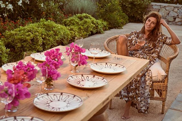 With the sun shining and the summer opening of @Themiszc Mykonos flagship happening on 24th July it minded me of a lovely few days of shooting for the Themis SS17 collection with the irrepressible @fannyanselmeparis this picture was at the end of a particularly long day! It's been a great journey with Themis since then - collaborations with Dior Maison and Swarovski, store openings and more! #luxurybrands #luxurybrandcollaborations #mykonosstyle #whisperingangel #luxuryaccessories #diormaison