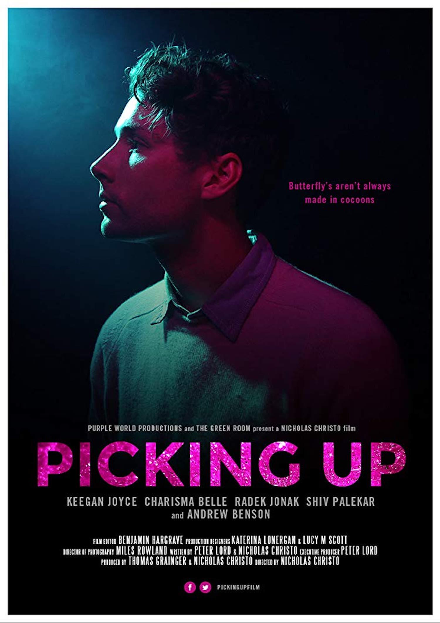 Charisma Belle stars alongside Keegan Joyce in short film,  Picking Up , directed by Nicholas Christo, produced by Thomas Grainger, Nicholas Christo & Peter Lord. Australia, (2016).