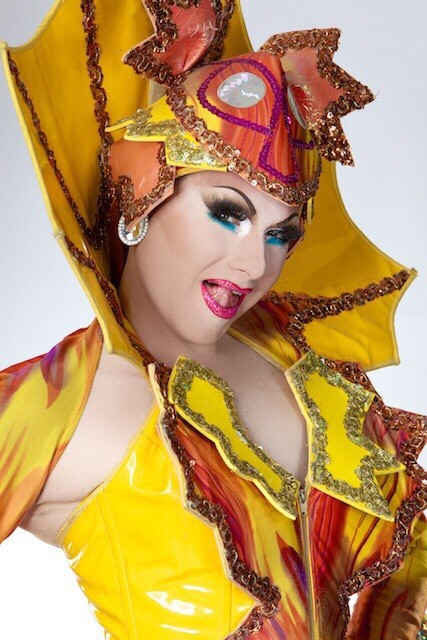 """"""" We dress up in women's clothes and parade around mouthing the words to other people's songs. """" - - Felicia Jollygoodfellow (Guy Pearce) from The Adventures of Priscilla, Queen of the Desert, produced by PolyGram Filmed Entertainment & Specific Films, Australia, (1994)."""
