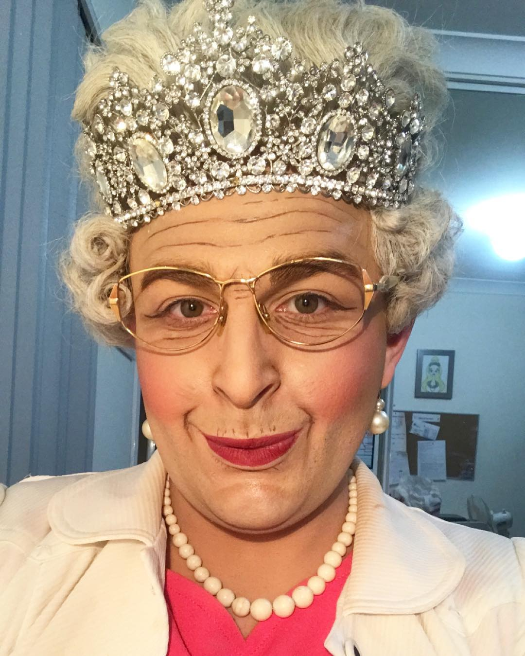 Hannah Conda as HRH Queen Elizabeth II.