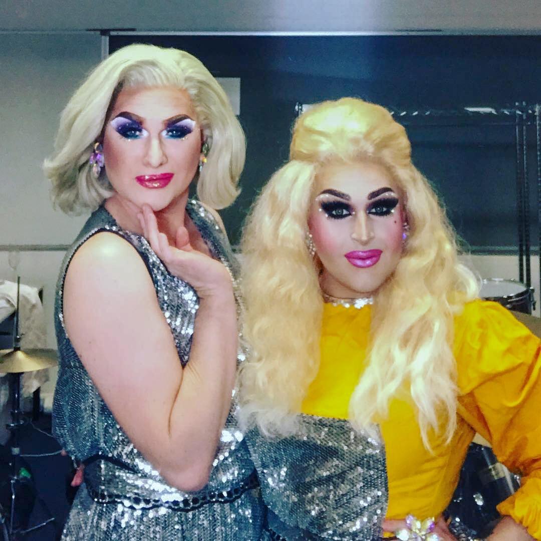 Charisma Belle and Hannah Conda