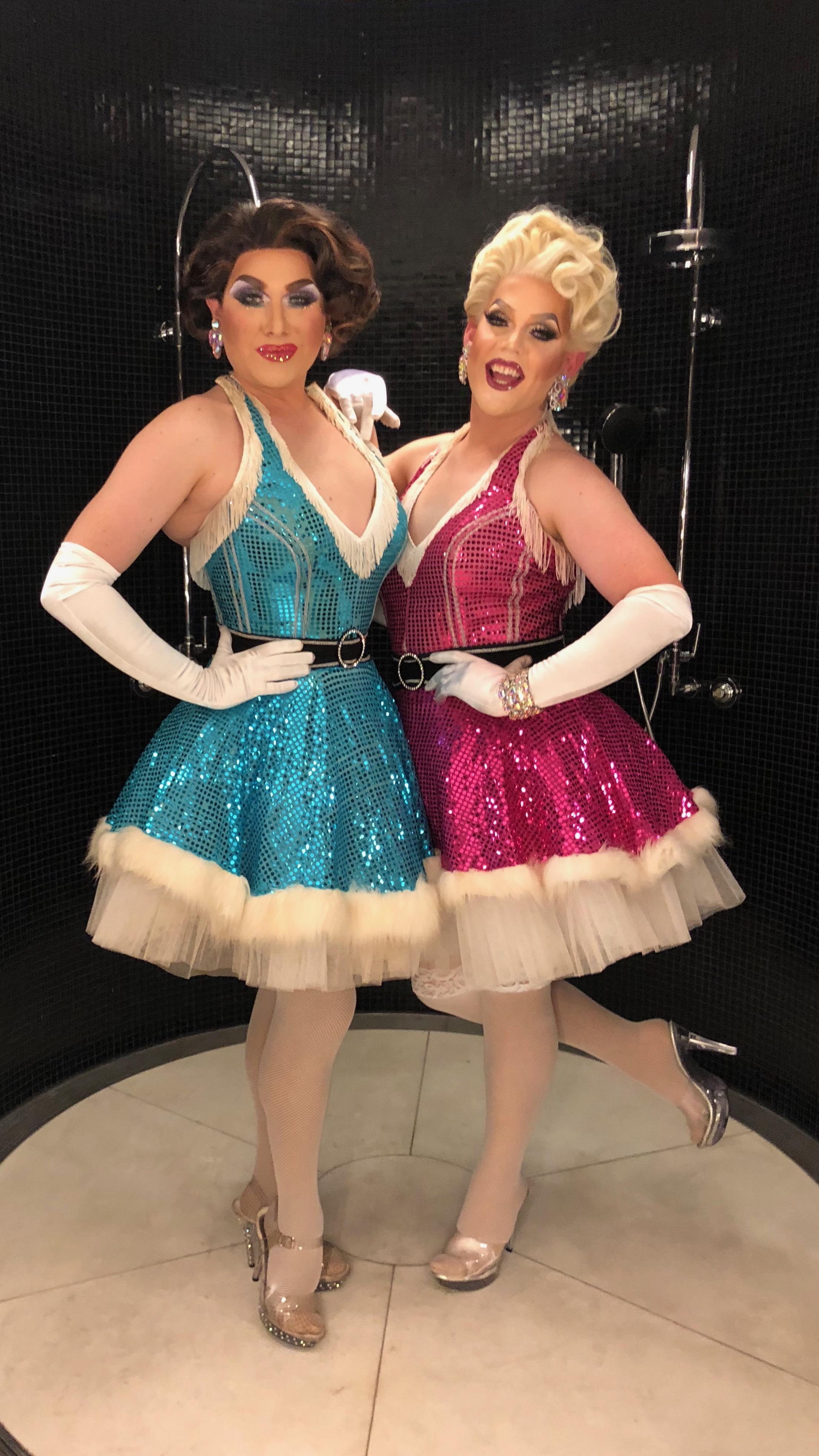 Charisma Belle and Carmen Geddit