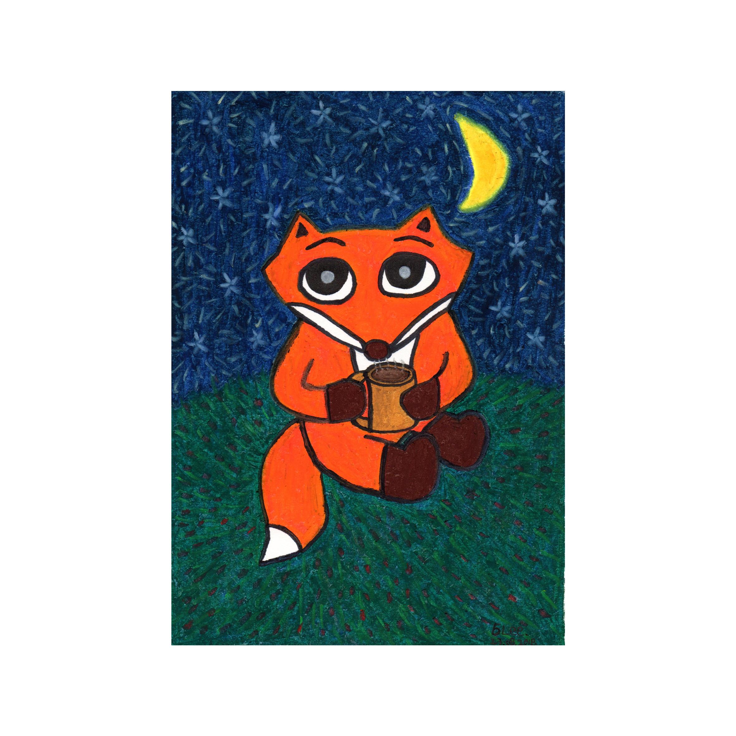 fox with the hot chocolate.jpg