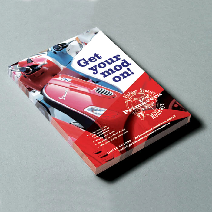 A6 Gloss Thick Flyers