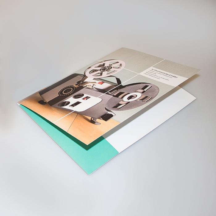 Gloss Finish Presentation Folders (Glued)