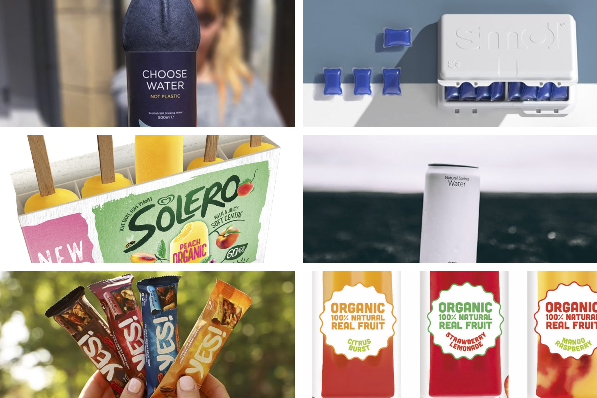 Recent Sustainability Packaging Innovation - July 2019
