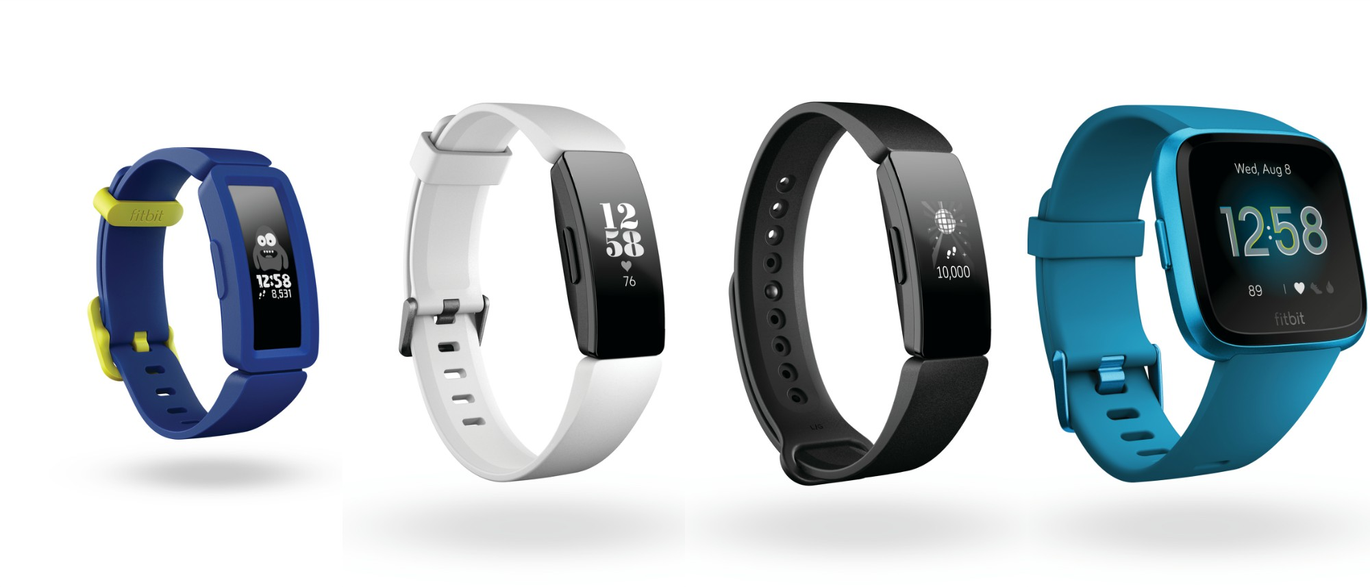 Fitbit Launches Four New Wearables, Making Health and Fitness
