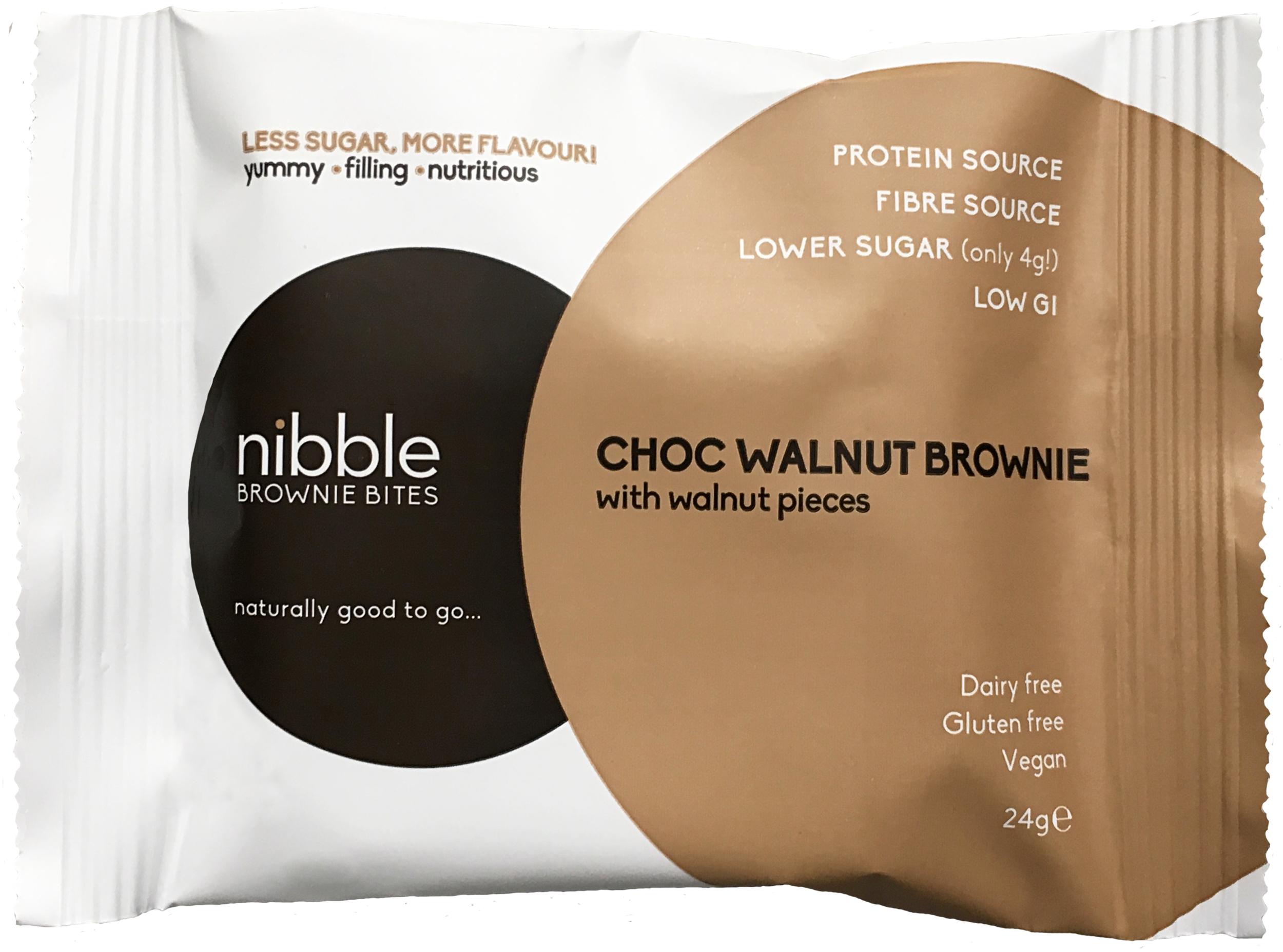Nibble Brownie Bite Choc Walnut Brownie.png