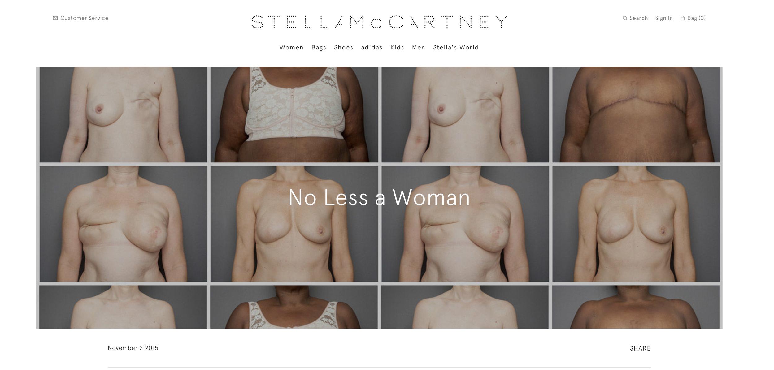 Stella McCartney website image