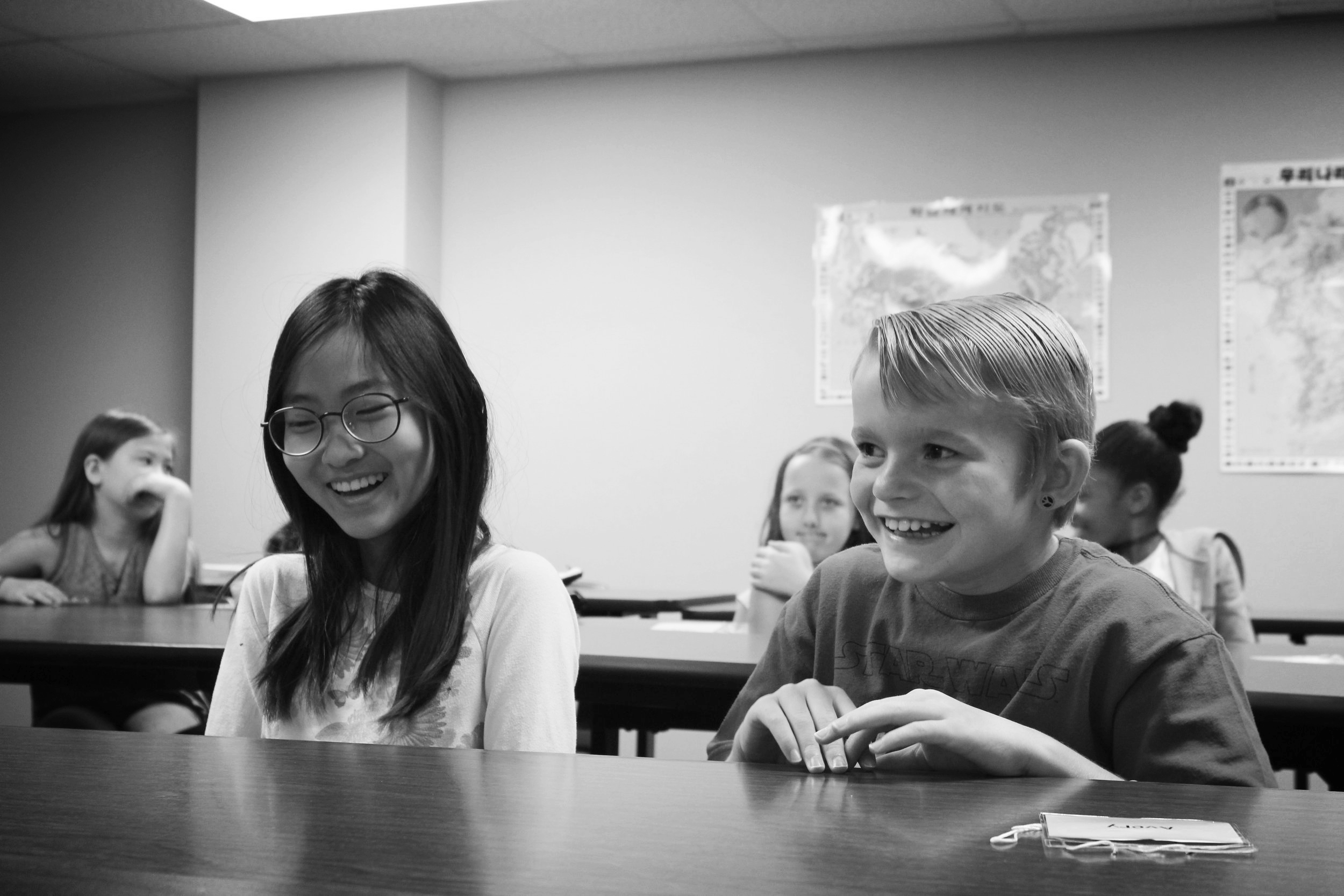 Students learn about language, culture and build friendships through KSL programs
