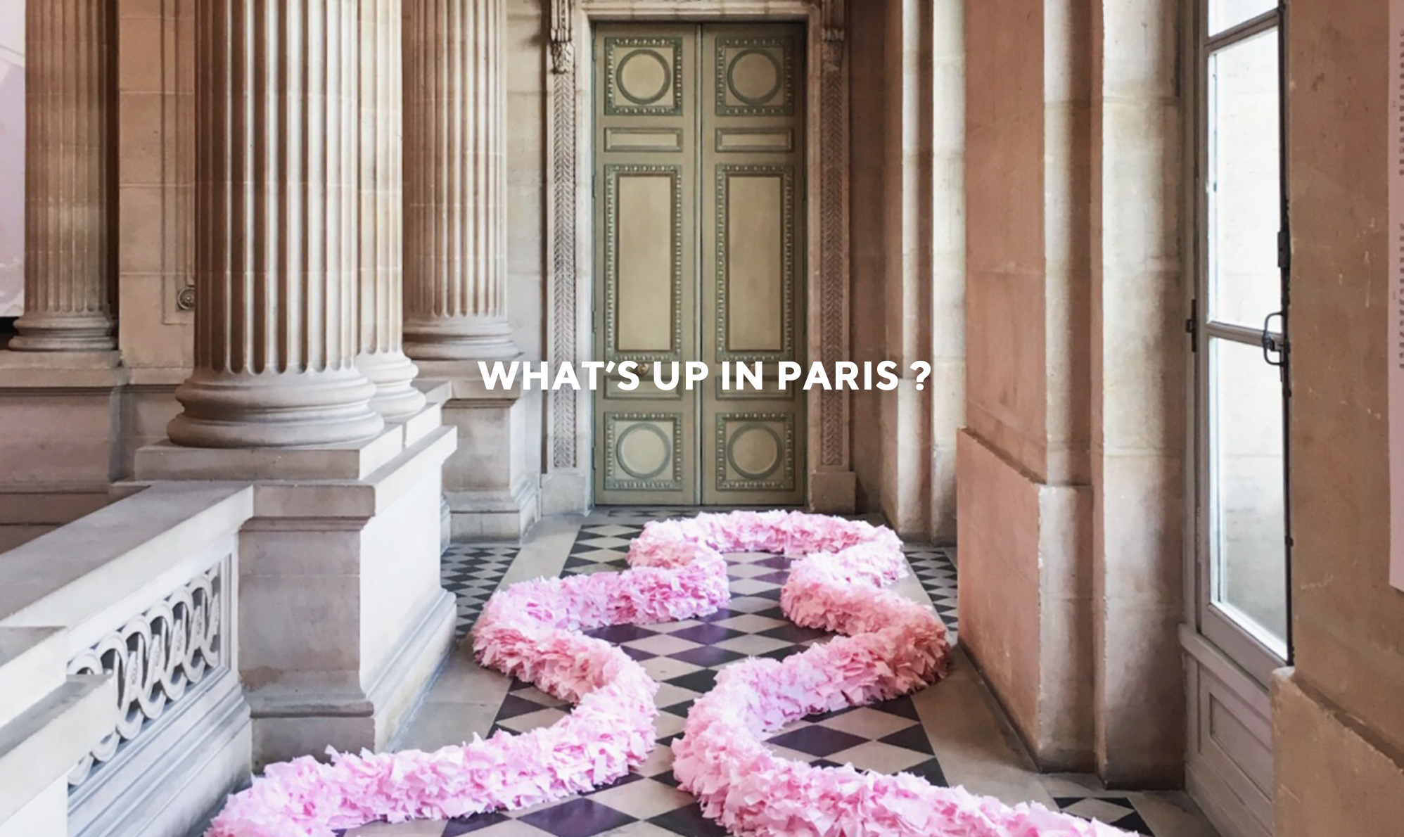 WHAT'S UP IN PARIS?