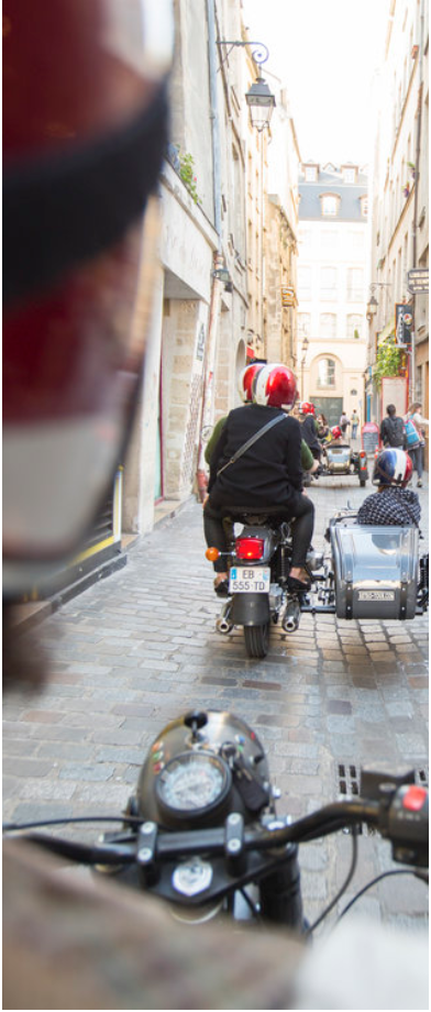 HAVE A FUN RIDE IN PARIS ! - … and let our guides take you into the secrets and beauties of the CityRate: under request - 60 or 90 mn ride.Minimum age 4 yo.Meeting point: Place de la Concorde or pickup at your hotel or apartment (extra)Itinerary: Montmartre, Notre-Dame and La Cité island, Saint-Germain. Specific tours under requestHours: According to your request