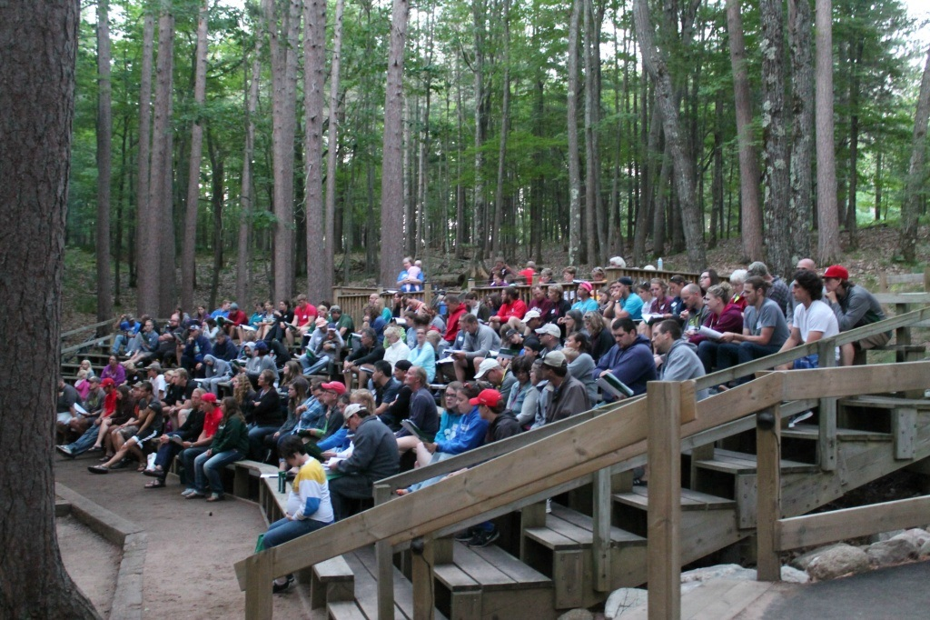 Outdoor Summer Worship - Join us for worship at 10:15am each Sunday at our Outdoor Chapel!If it's raining, we'll be in the Fellowship Hall. We hold worship Memorial Day weekend through August 11, as well as Labor Day weekend.