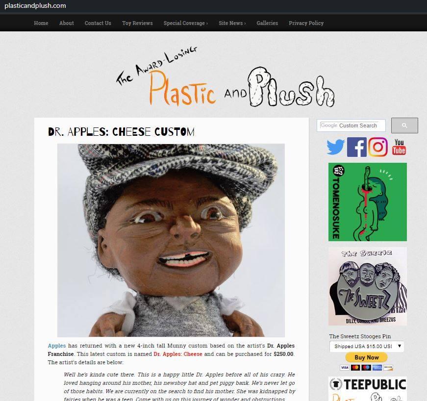 Plastic & Plush Blog