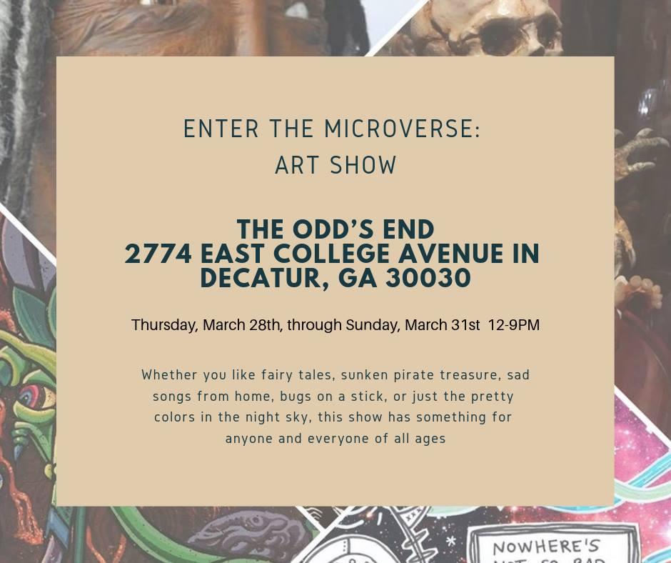 Enter the Microverse Art Show