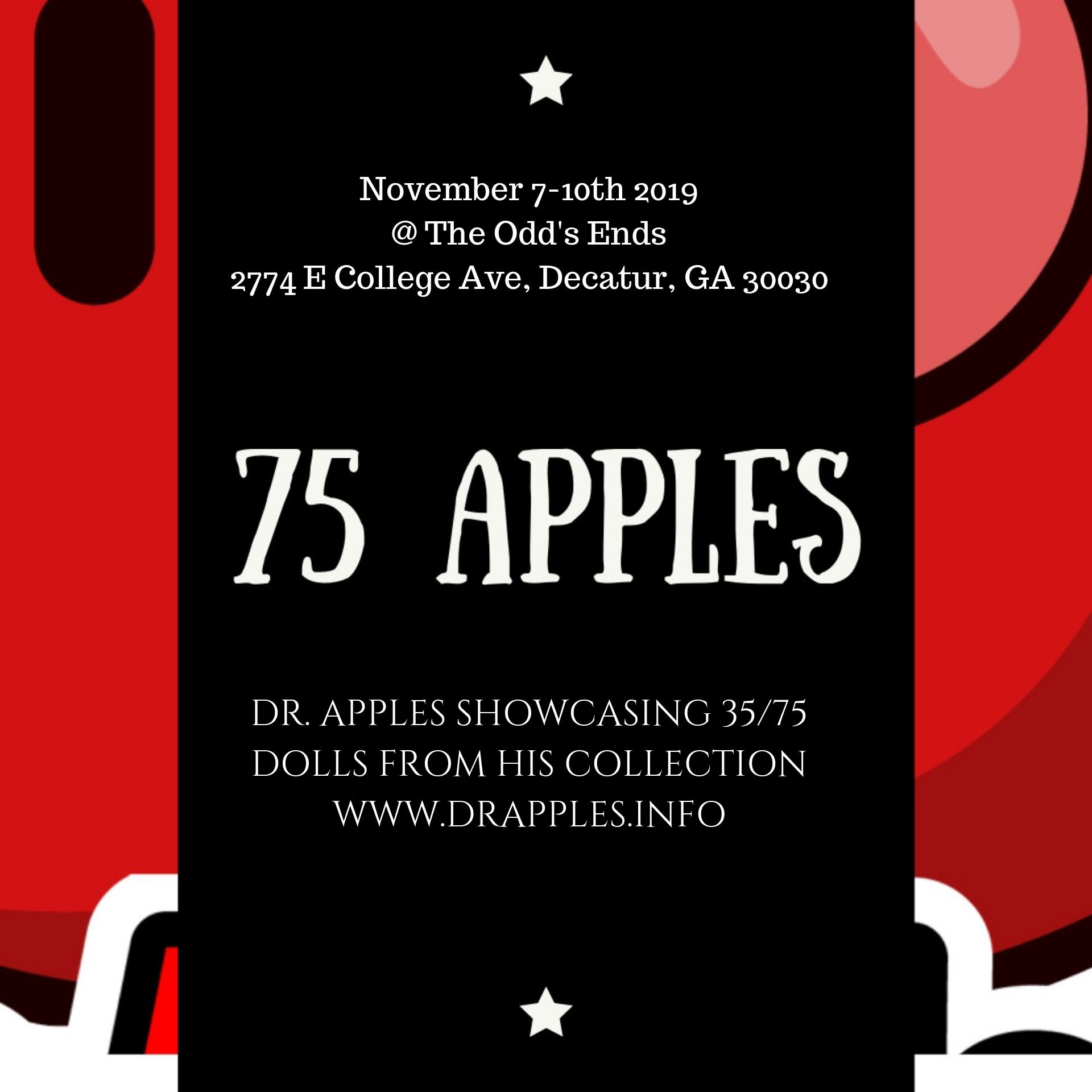 75 Apples Art Show: Part 1