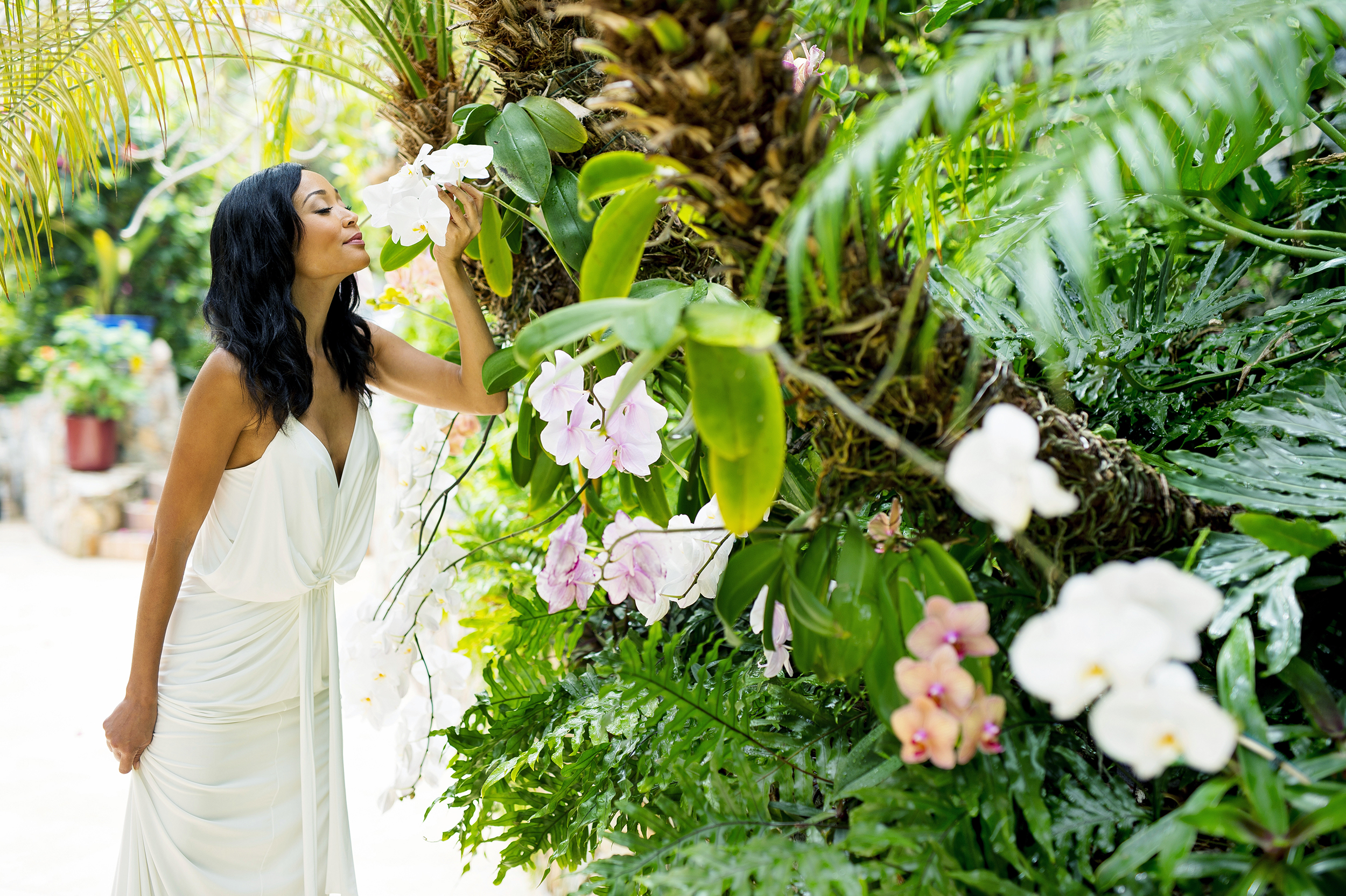 Villa Norbu orchids - romantic places to propose in the US