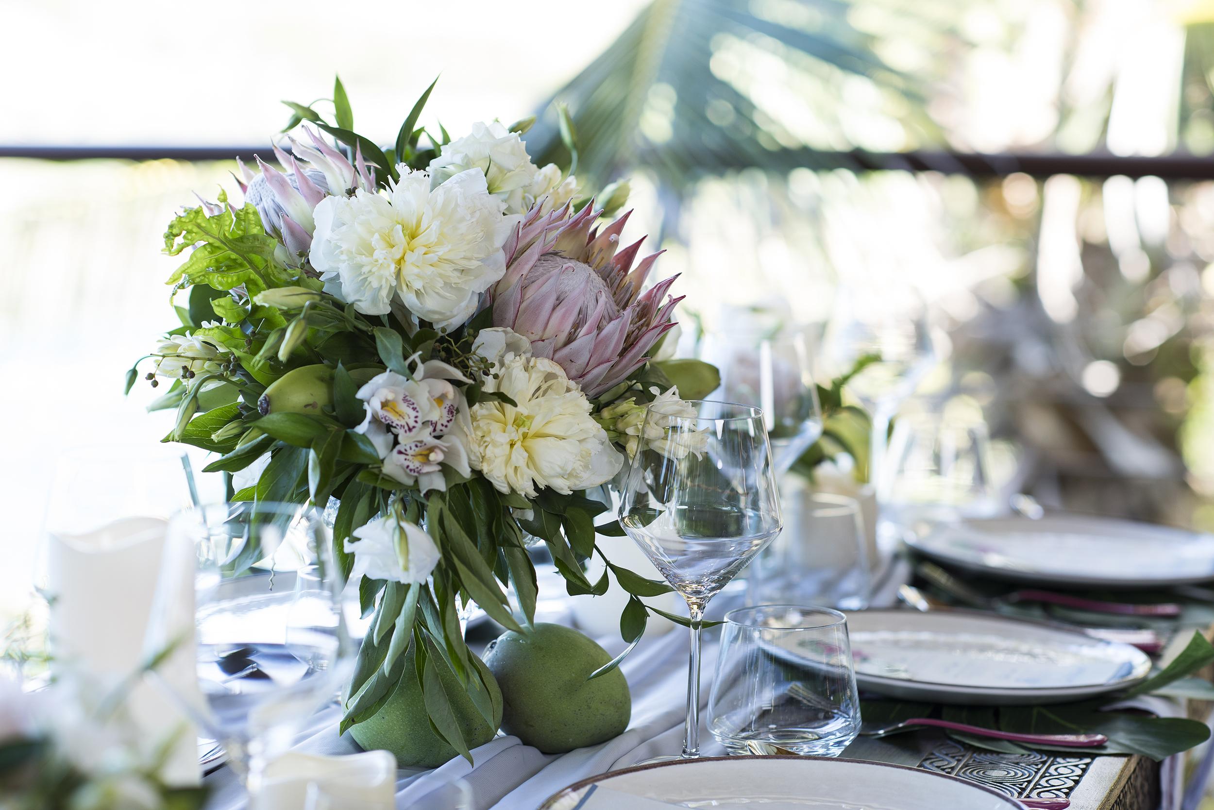 Villa Norbu Weddings - Villa Weddings on St. Thomas - Blue Glass Photography