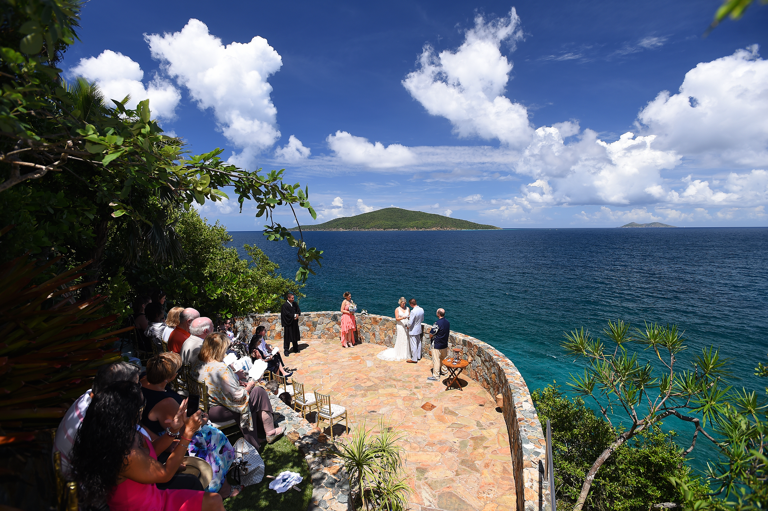Villa Wedding in the USVI - Villa Norbu Weddings - USVI Wedding Services