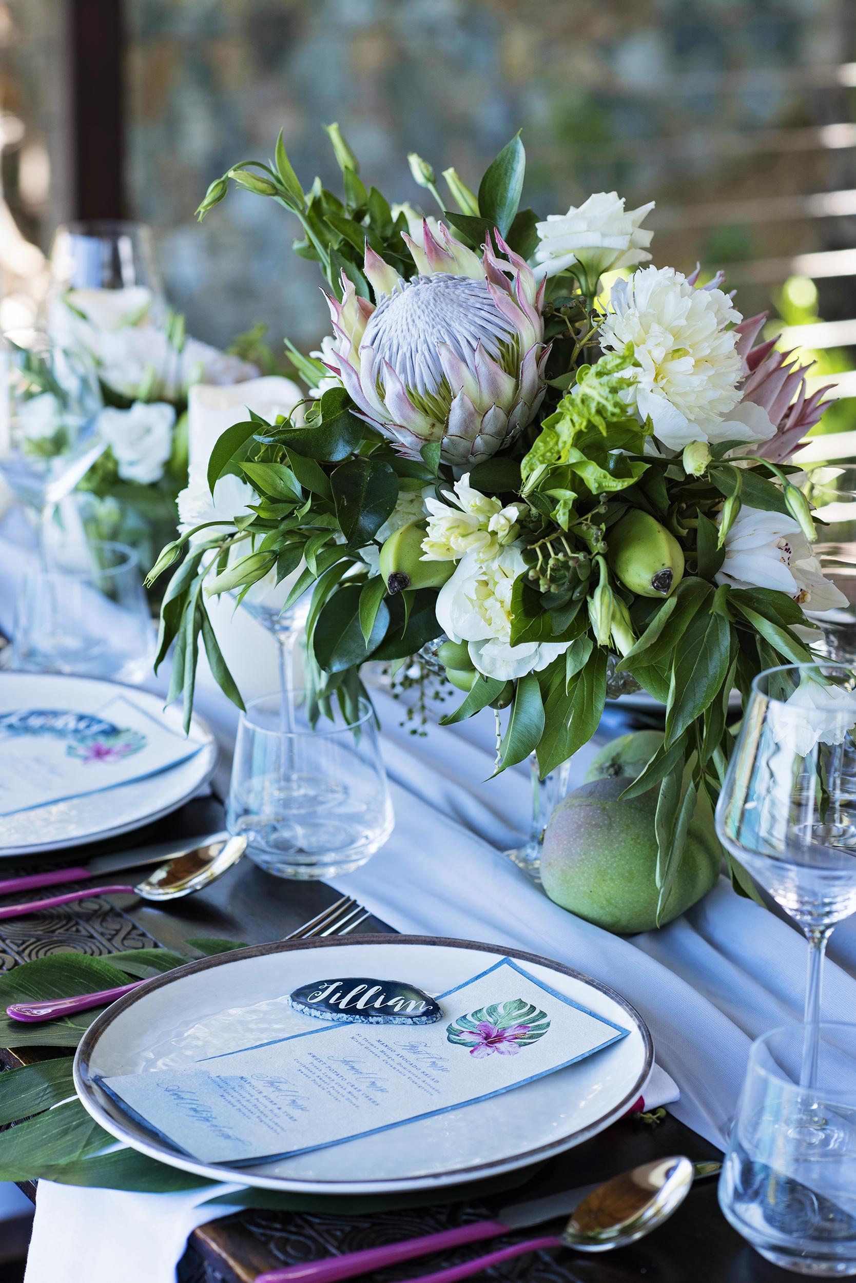 St. Thomas Cruise Ship Weddings - Villa Norbu Wedding