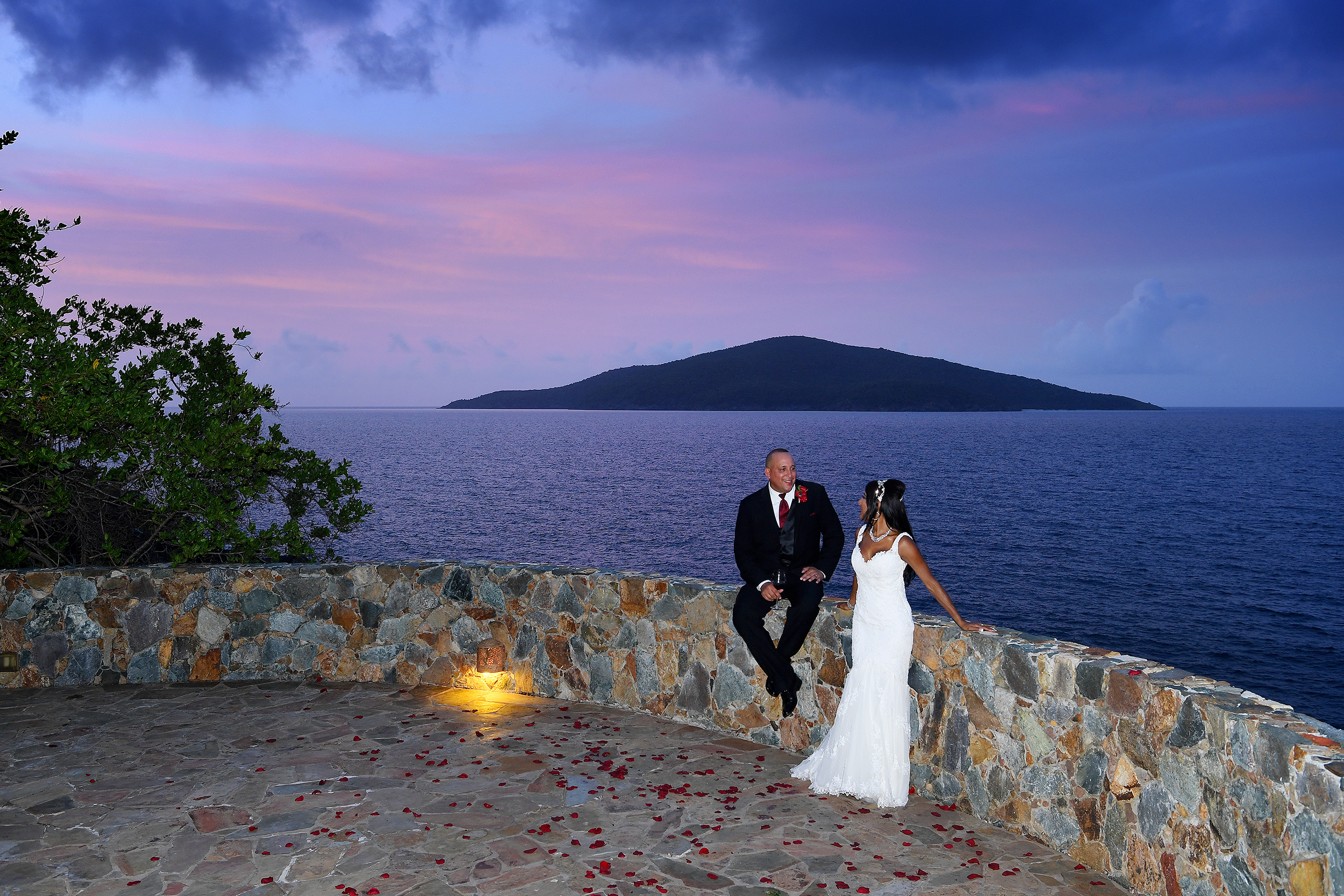Places to get married St. Thomas - Island Wedding Services on St. Thomas - Blue Glass Photography