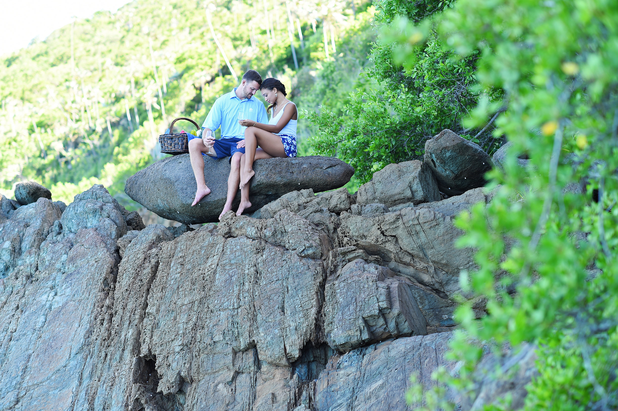 romantic places to propose in the US - Weddings in the Virgin Islands