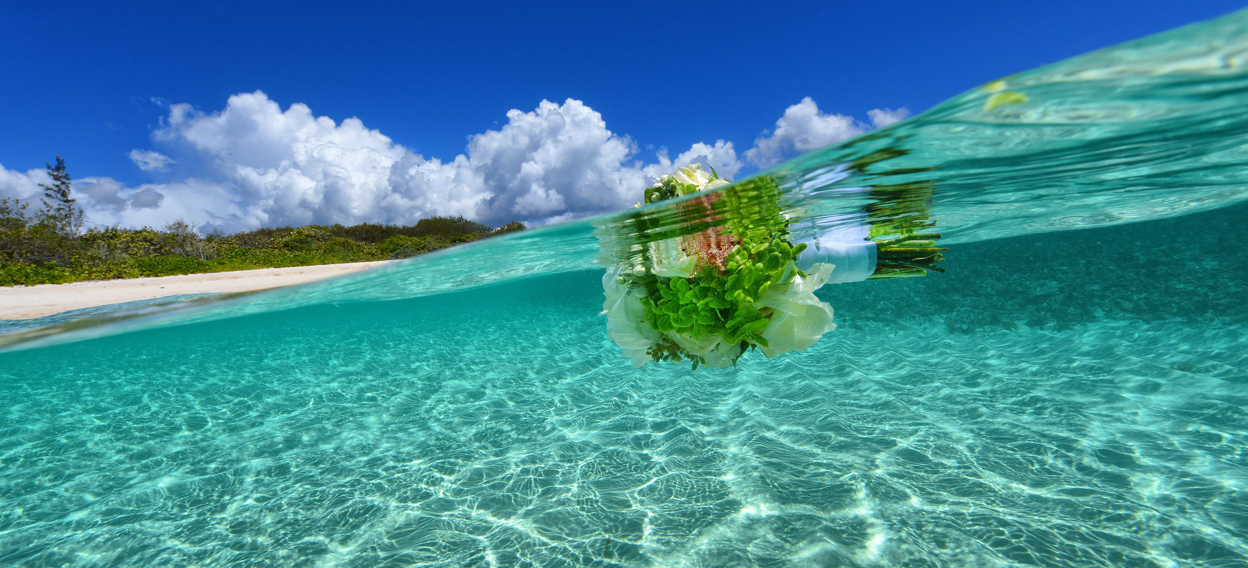 Love for Water - Blue Glass Photography - US Virgin Islands