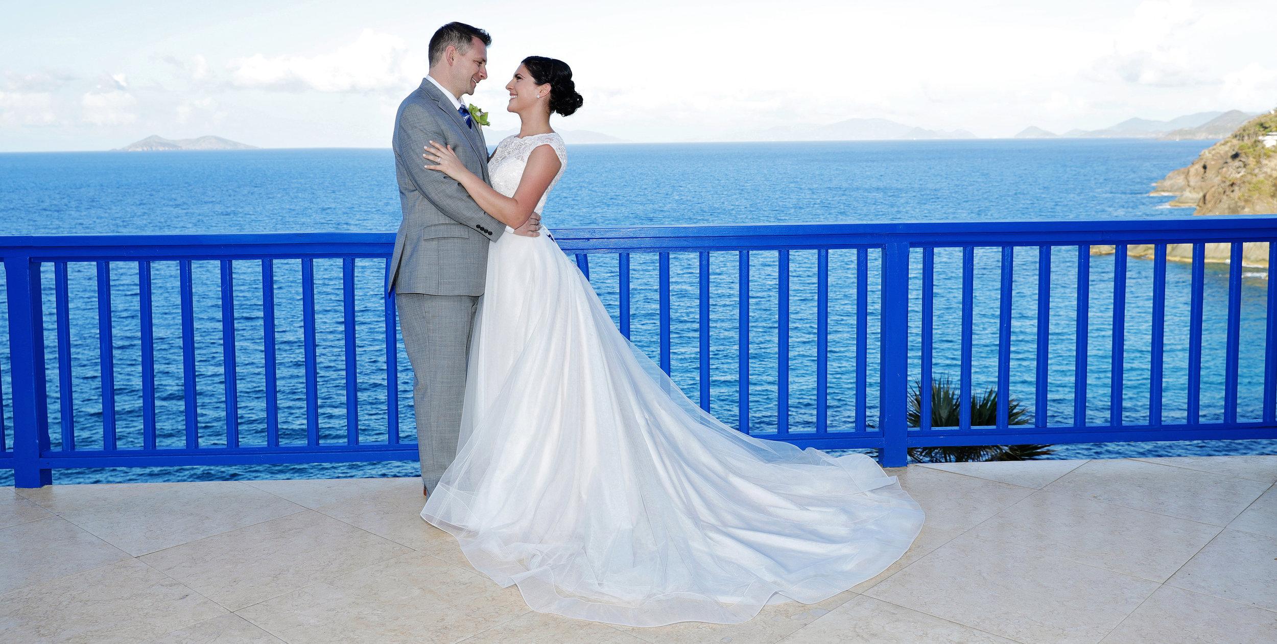 Blue Glass Photography - Best wedding venues in St. Thomas VI - USVI Villa Wedding