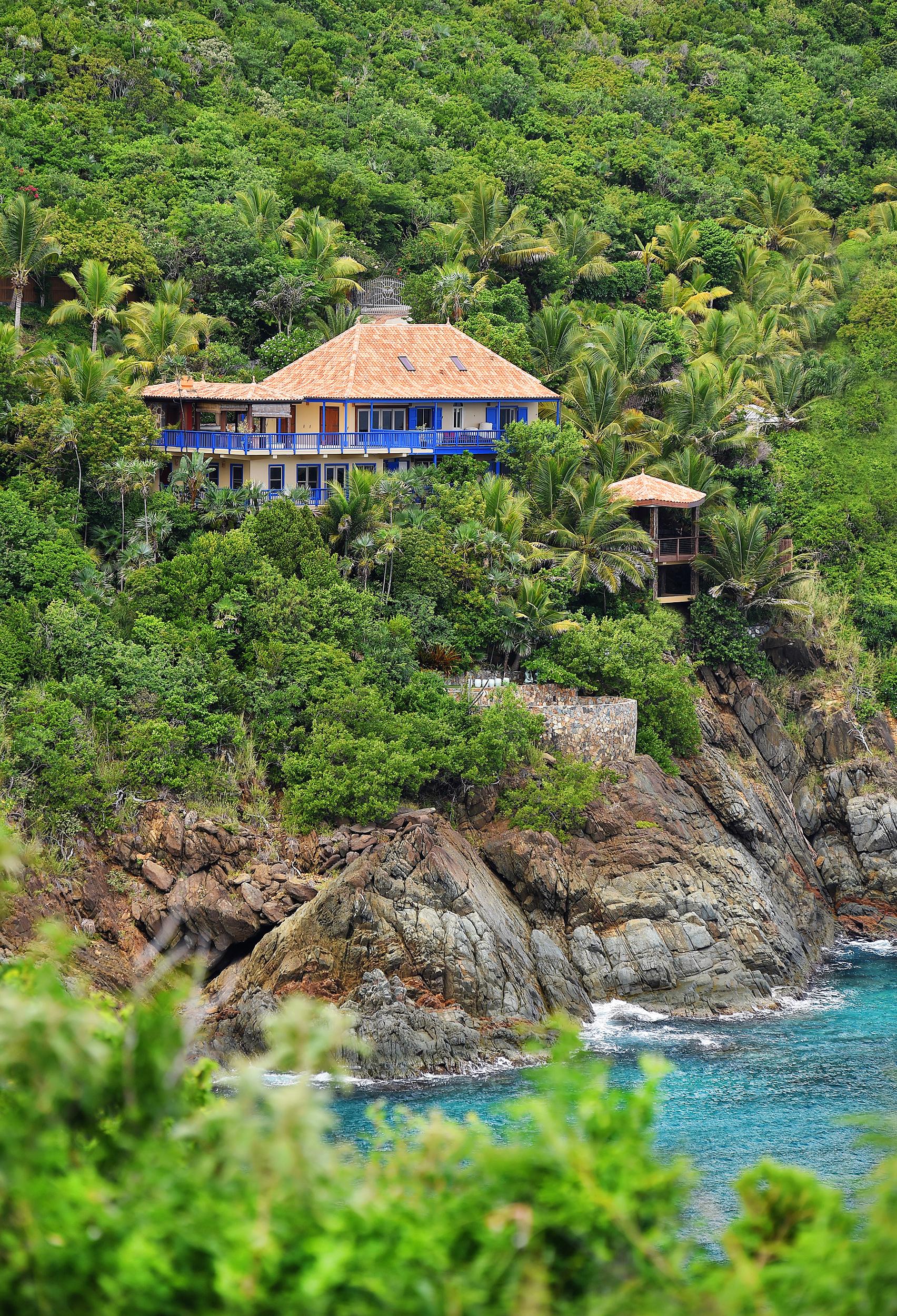 Villa Norbu - Ocean Front Villas -wedding villas on St. Thomas