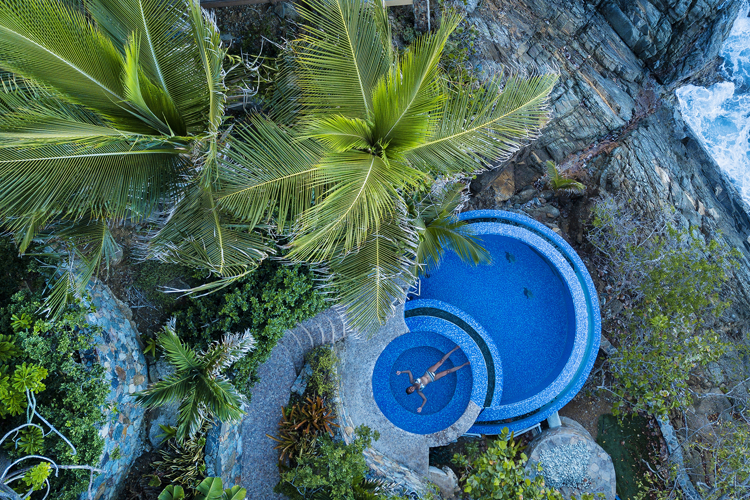 Norbu Pools - Blue Glass Photography