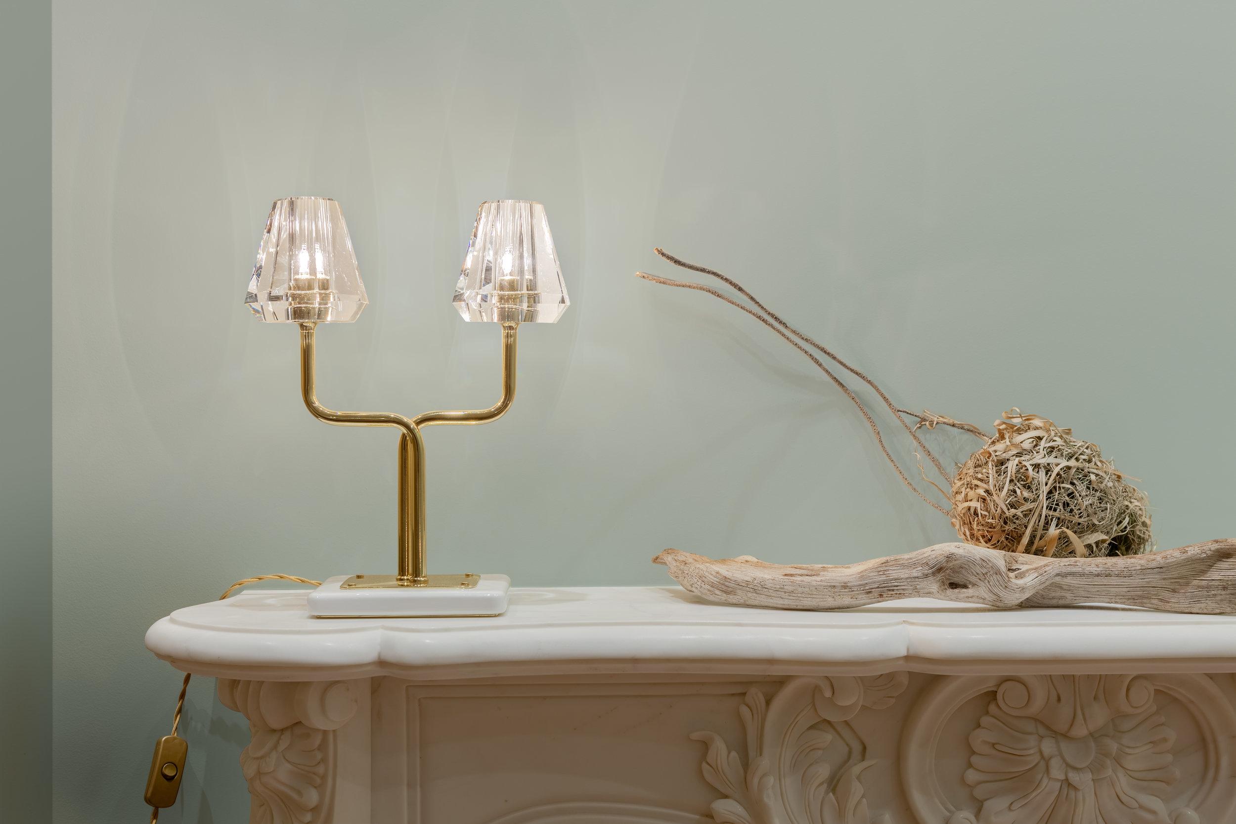 Gestalt Aquiline - Twin Stem Table Lamp - © Michael Franke