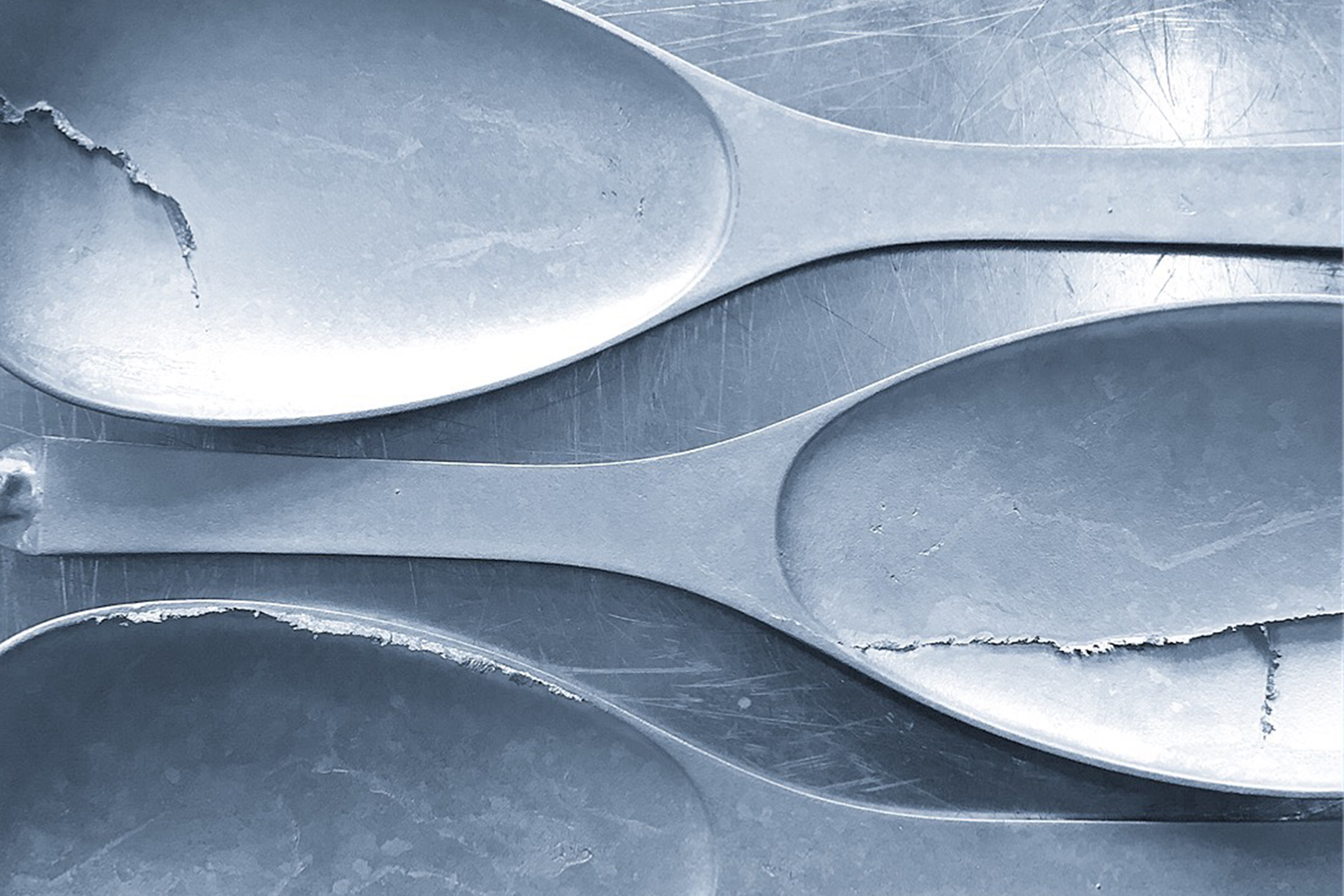 E&Co - Lost wax casting brass spoons