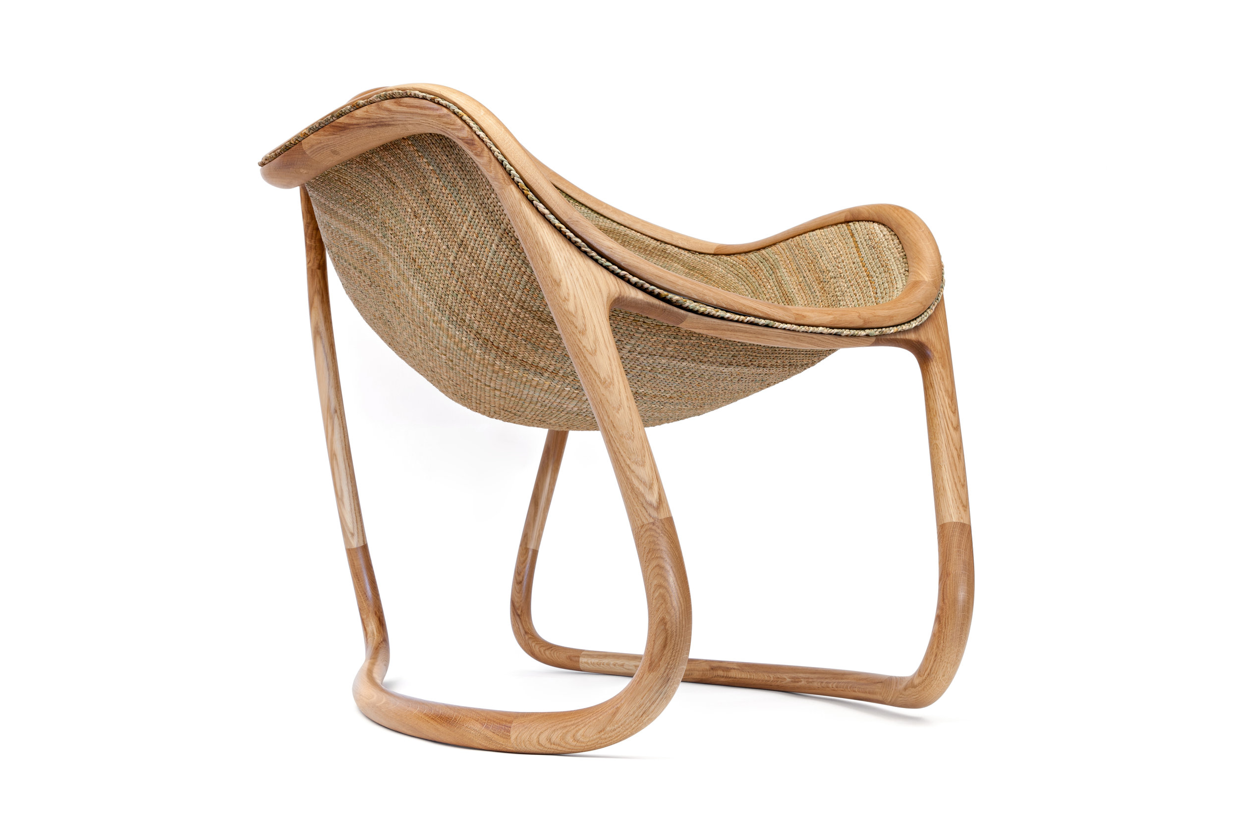 Rush Chair - Side view of chair © Michael Franke