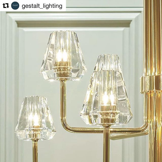 This week we launch our new collection of lighting in collaboration with @gestalt_lighting at @decorex_international a collection of six of hand crafted table, wall lights and chandeliers made in europe by skilled craftsmen in pure brass and optical crystal. #christopherjenner #lighting #gestaltlighting #handmade #brass #crystal #decorexinternational
