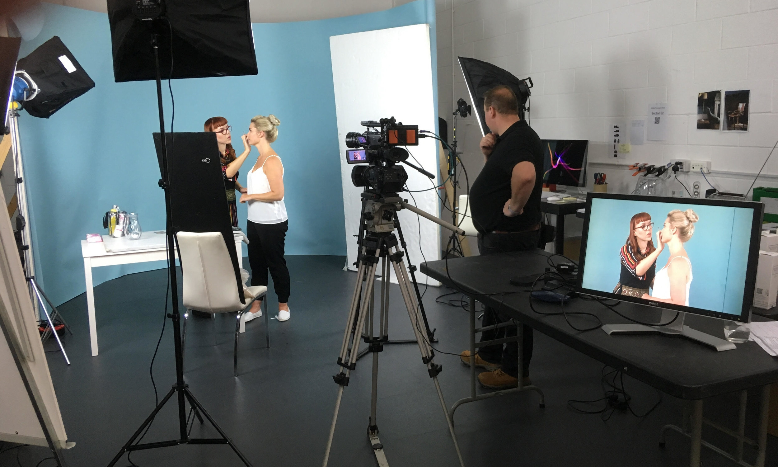 Our recent video shoot with skincare experts  Katherine Daniels  allowed us to explore new and different creative routes.
