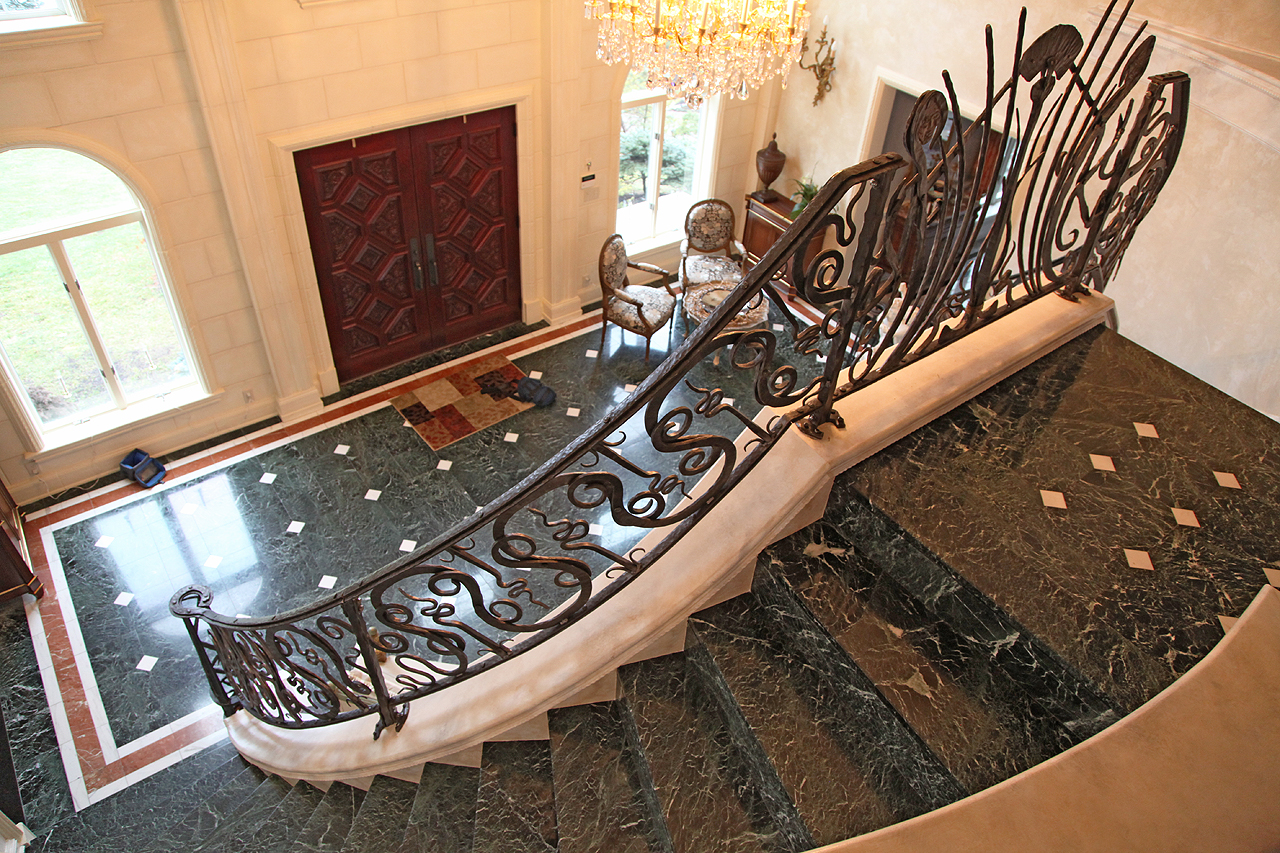 hand forged railings