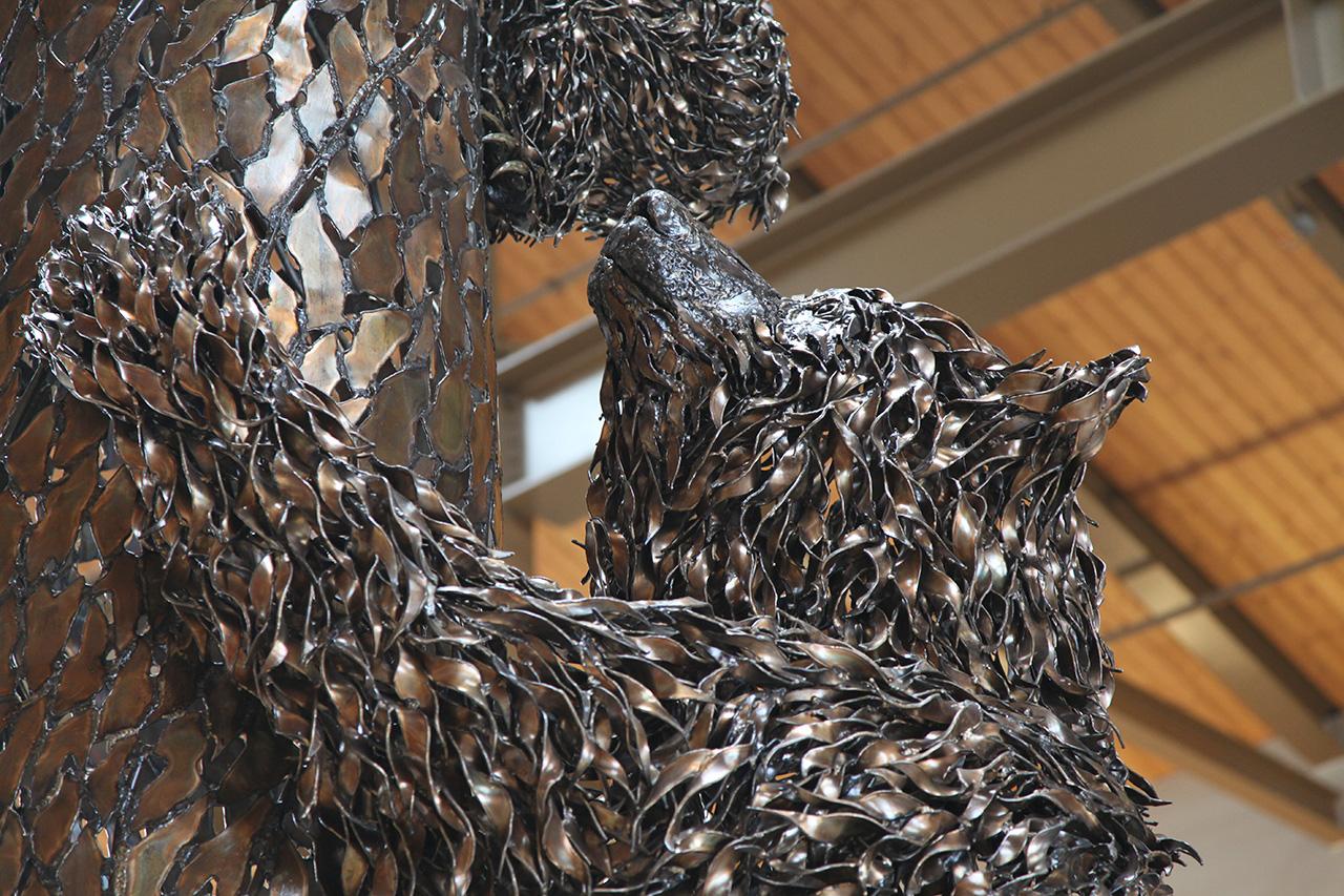 Bear Family Sculpture