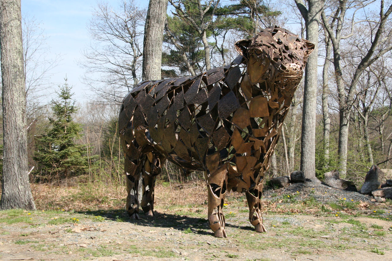 Bull Steer Sculpture