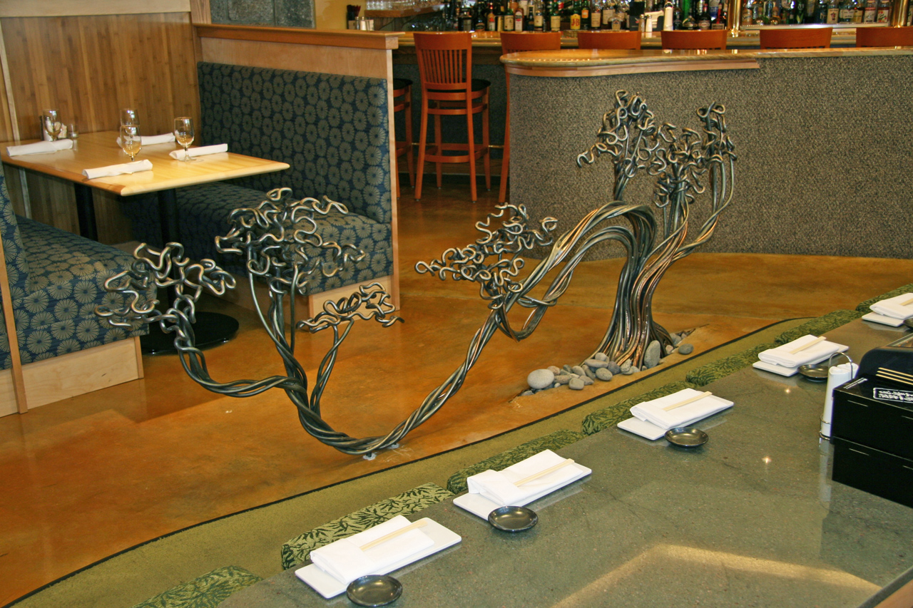 Octopus Sculpture by Chris Williams Latitude 43 Restaurant