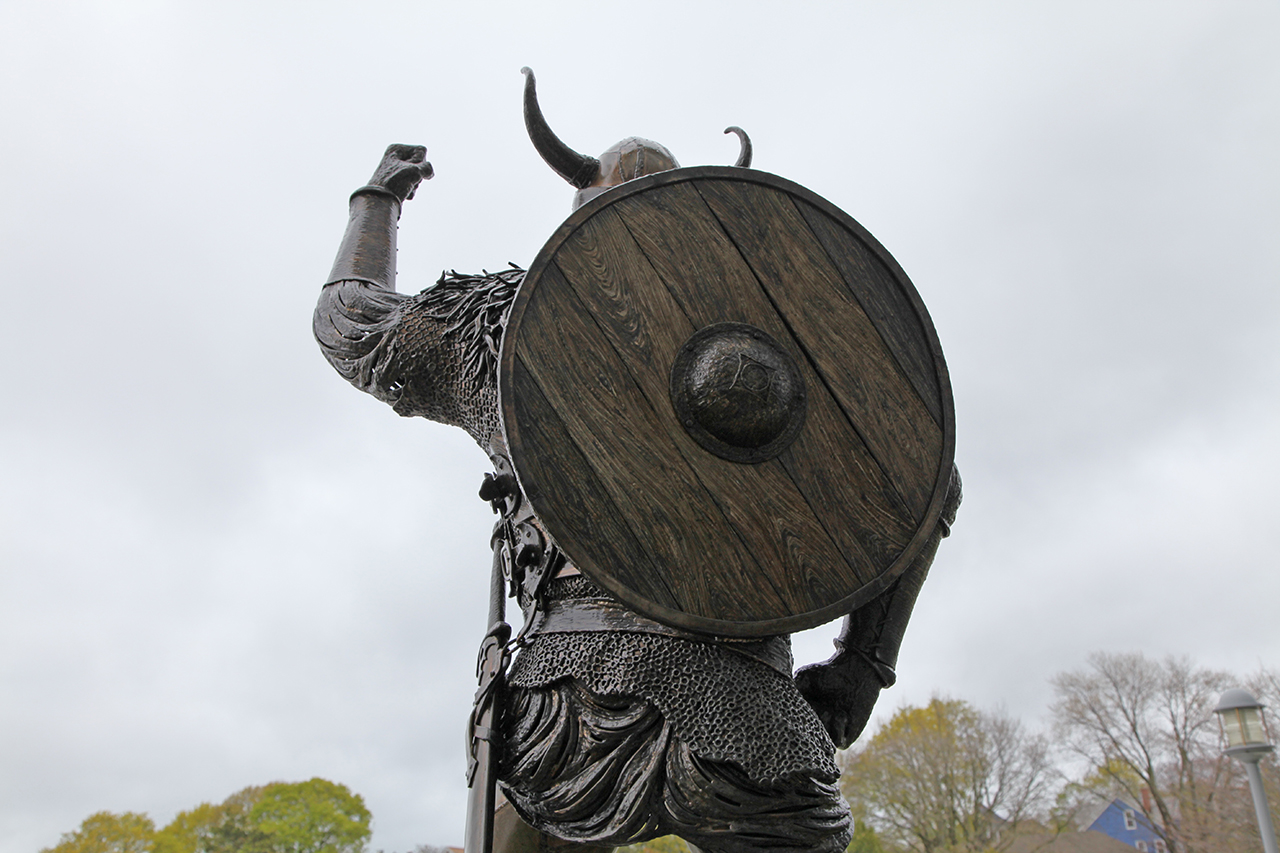 Viking Sculpture by Chris Williams